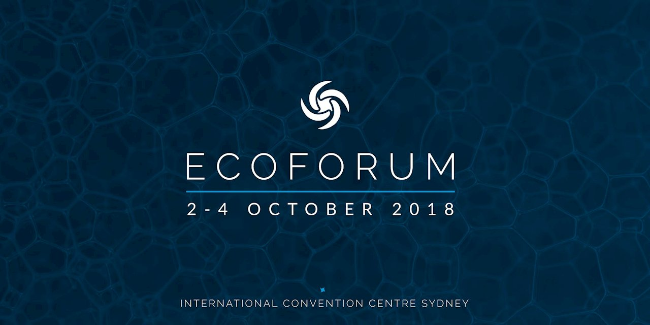 Visit us at EcoForum 2 - 4 October
