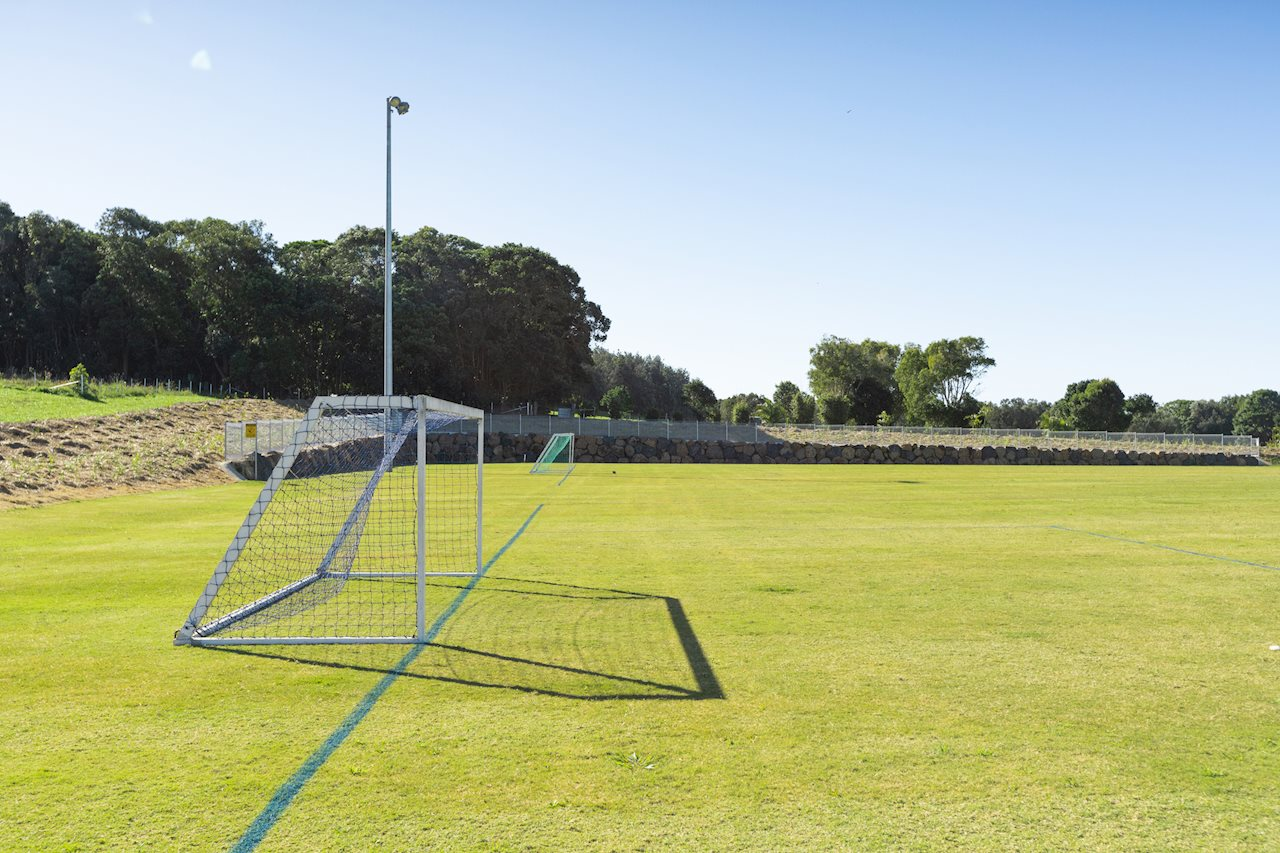Lennox Head Soccer Fields Completed